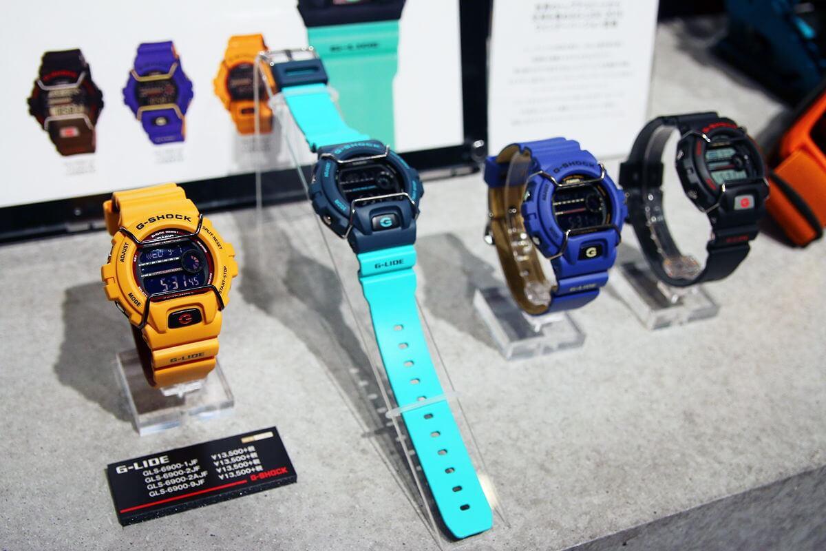 Часы швейцарские и японские в магазине