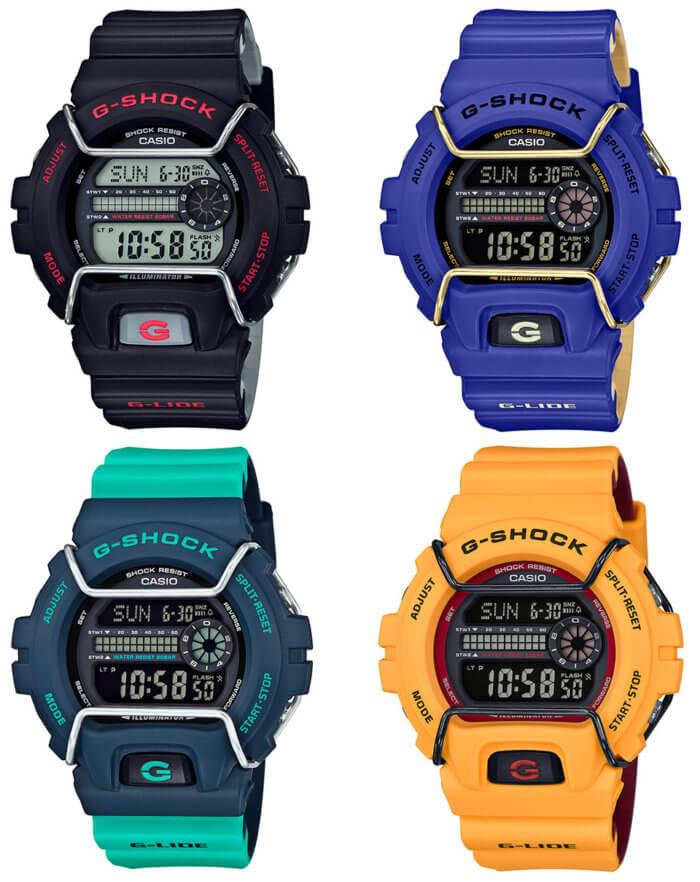 G-Shock G-LIDE GLS-6900 GLS-6900-1JF GLS-6900-2JF GLS-6900-2AJF GLS-6900-9JF