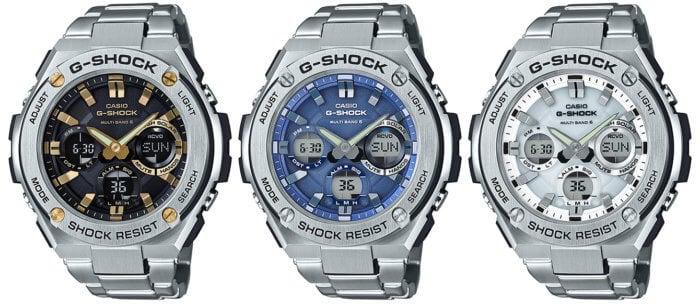 G-Shock G-STEEL GST-W110D-1A9JF GST-W110D-2AJF GST-W110D-7AJF