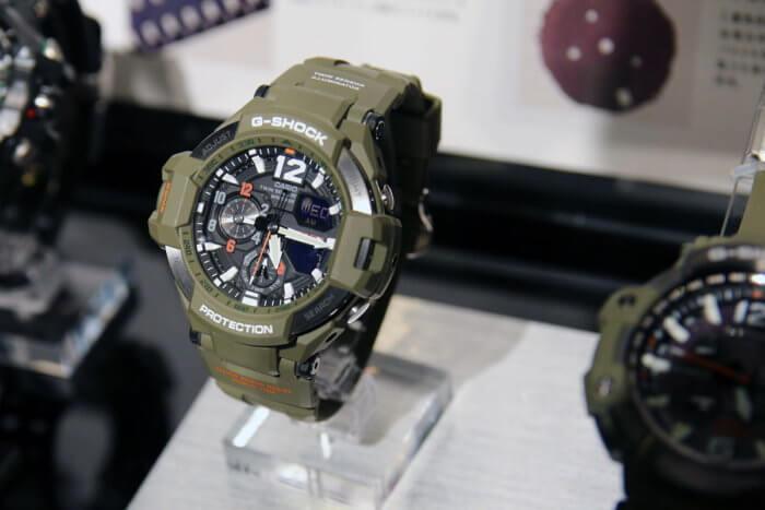 G-Shock Master In Olive Drab GA-1100KH-3AJF
