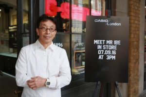 Kikuo Ibe in London for MR-G 20th Anniversary