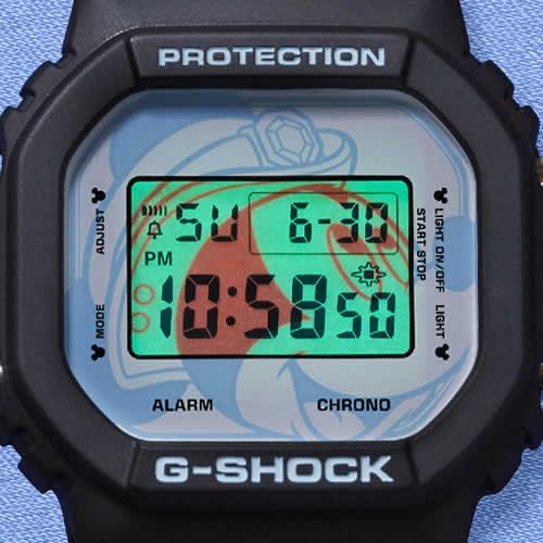 Tokyo DisneySea 15th Anniversary G-Shock DW-5600 EL Backlight