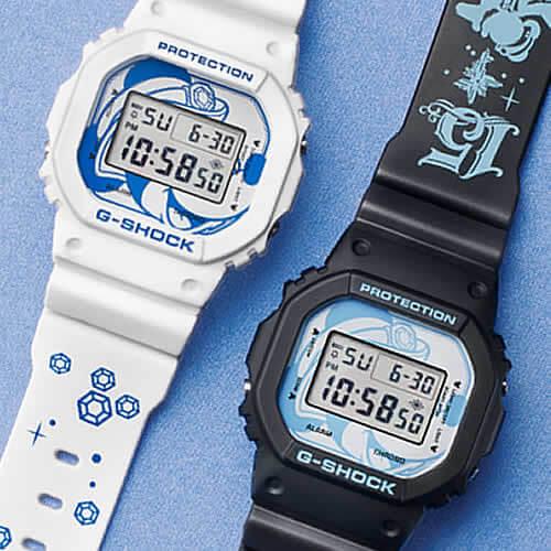 Tokyo DisneySea 15th Anniversary G-Shock DW-5600 Black White Pair