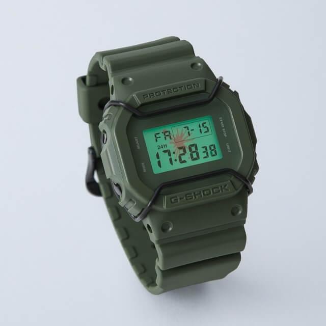 Mihara Yasuhiro G-shock DW-5600 Green Khaki