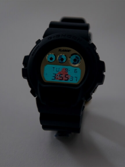 XLARGE x G-Shock DW-6900 25th Anniversary EL Backlight