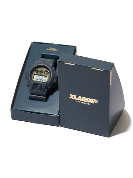 XLARGE x G-Shock DW-6900 25th Anniversary Box