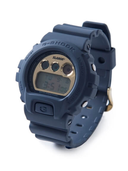 XLARGE x G-Shock DW-6900 25th Anniversary Navy Blue Limited Edition Watch