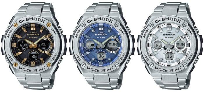 G-Shock G-STEEL GST-S110D-1A9 GST-S110D-2A GST-S110D-7A