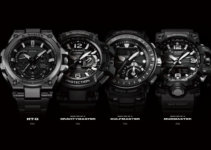 Casio G-Shock MT-G and Master of G Lookbook Catalog 2016