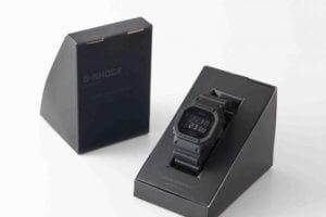 Urban Research x G-Shock DW-5600 All Black Limited Edition 2016