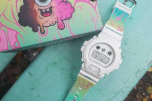 Buff Monster x G-Shock DW6900-7BUFF Watch