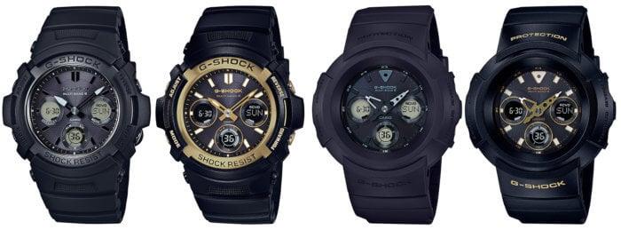 G-Shock AWG-M100SBB-1AJF AWG-M100SBG-1AJF  AWG-M510SBB-1AJF AWG-M510SBG-1AJF