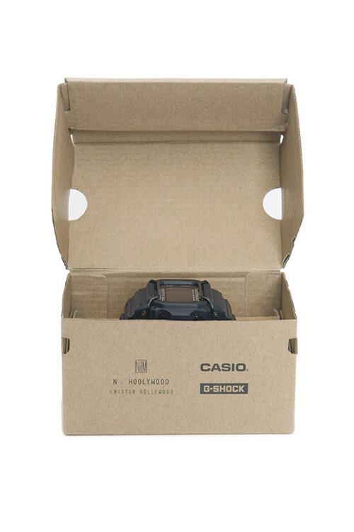 N. Hoolywood x G-Shock DW-D5600PN-1JR Box