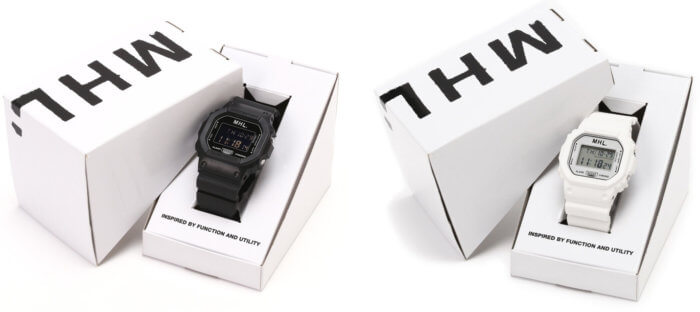 Margaret Howell x G-Shock DW-5600 Box