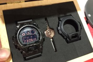 Alvarae Forged Carbon Armour Bezel Box Set for G-Shock DW-6900