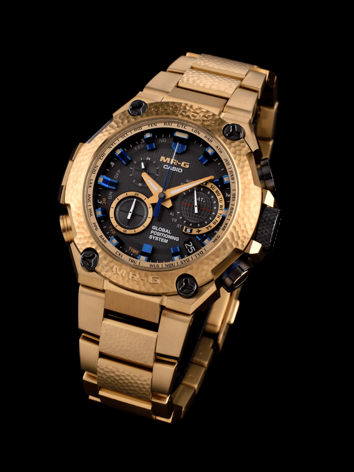 CASIO G-SHOCK MRG-G1000HG-9A Gold Hammer Tone 20th Anniversary Limited Edition