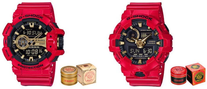 G-SHOCK GA-400CX-4A and GA-700CX-4A