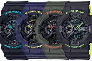 G-Shock GA-110LN Layered Neon Color