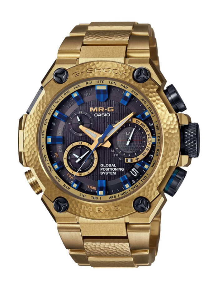 G-Shock MRG-G1000HG-9AJR Gold Hammer Tone Watch