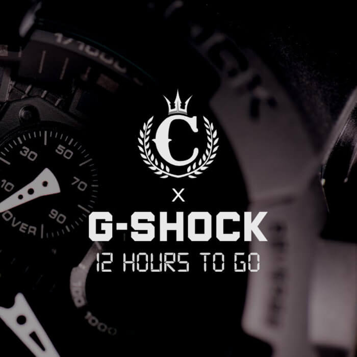 Culture Kings x G-Shock 2.0 Black