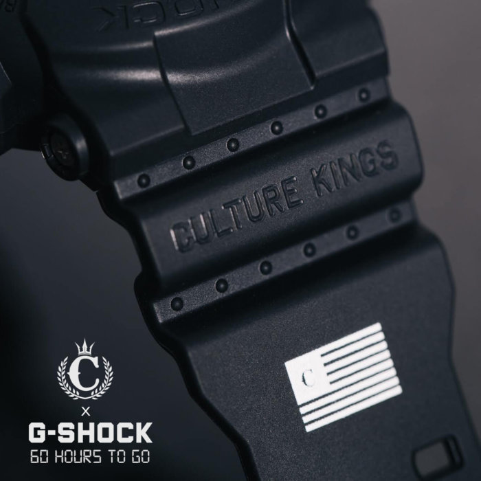 Culture Kings x G-Shock 2.0 Black GA-100 2016