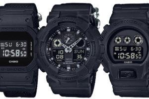 G-Shock Military Black Series with Cordura Nylon Band