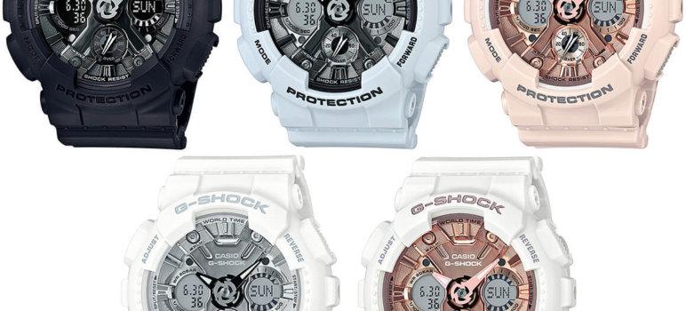 G-Shock GMA-S120MF-1A GMA-S120MF-7A2GMA-S120MF-2A GMA-S120MF-4A GMA-S120MF-7A1