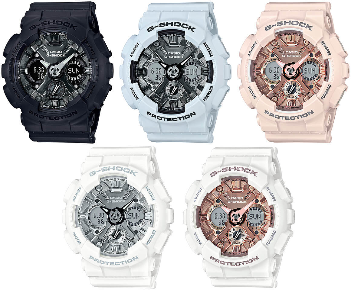 25e2653b50bc G-Shock GMA-S120MF Metallic Face  New S Series Watch – G-Central G ...