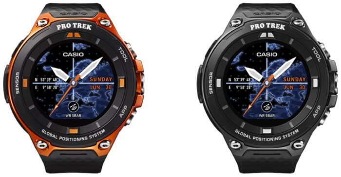 Casio Pro Trek WSD-F20 Smart Outdoor Watch with GPS