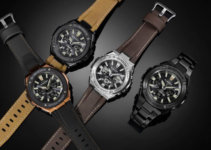 G-Shock G-STEEL Street Vintage Style With Tough Leather Band GSTS130L-1A GSTS120L-1B GSTS120L-1A GSTS130BD-1A