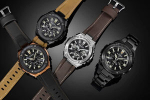 G-Shock G-STEEL Tough Leather Band: Street Vintage Style