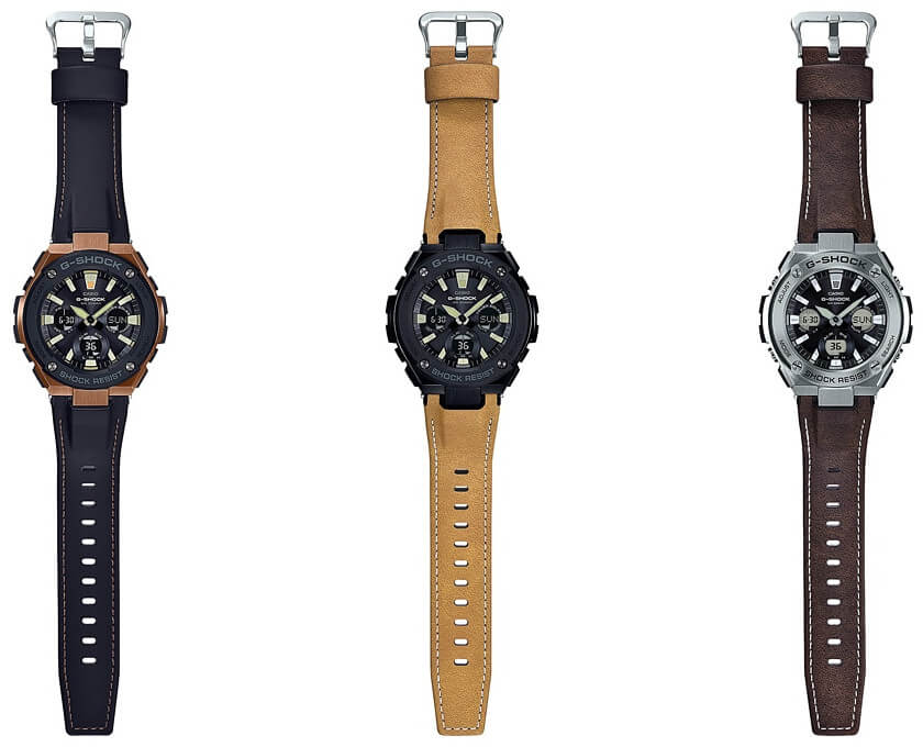 87cbae6a2 G-Shock G-STEEL Tough Leather Band: Street Vintage Style – G-Central ...