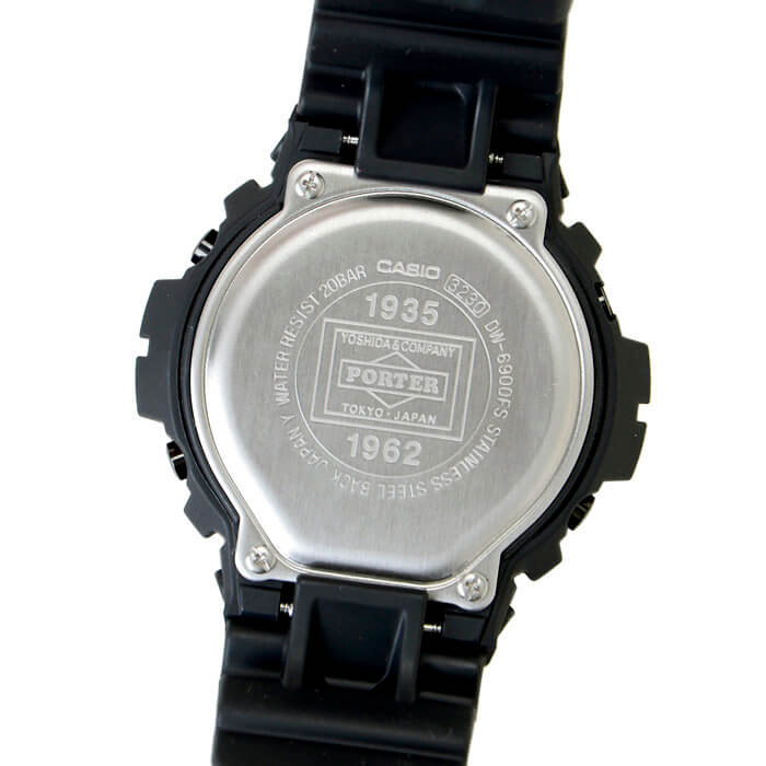Porter x G-Shock DW-6900 2017 Case Back