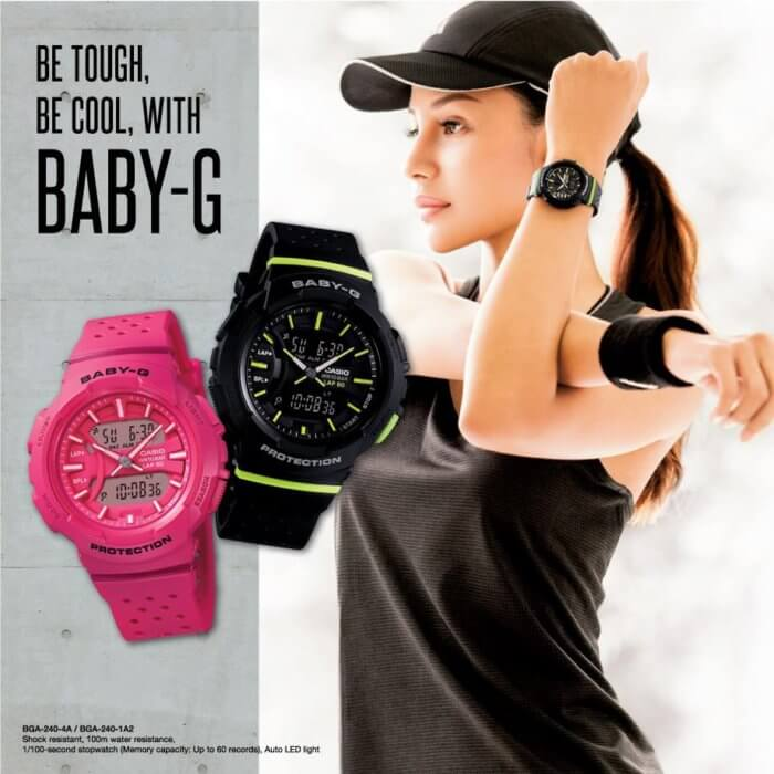 Baby-G BGA-240 Womens Watch For Running