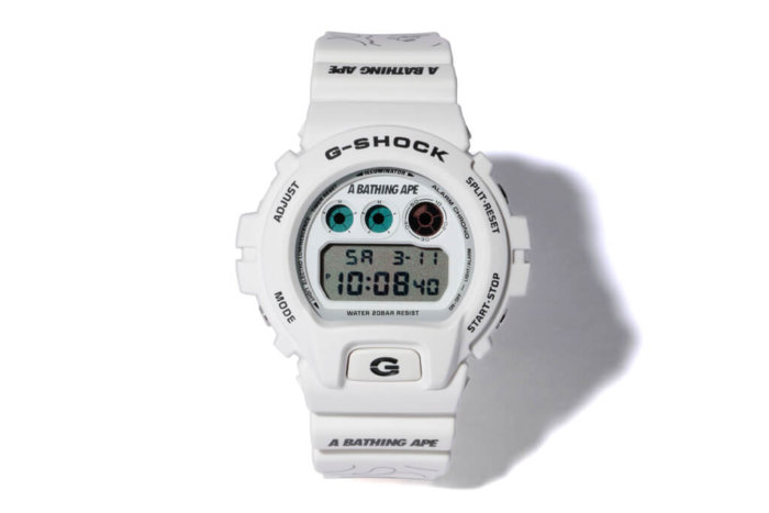 Bape x G-Shock DW-6900 2017 Collaboration Watch