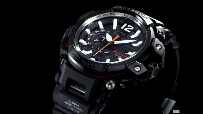 Casio G-Shock Gravitymaster GPW-2000 with GPS and Bluetooth