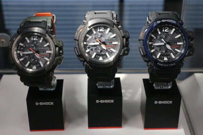 G-Shock GPW-2000 Gravitymaster Colors: Olive Green, Gray, Black/Blue