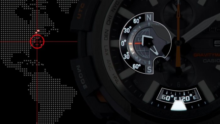 G-Shock GPW-2000 Latitude and Longitude Display