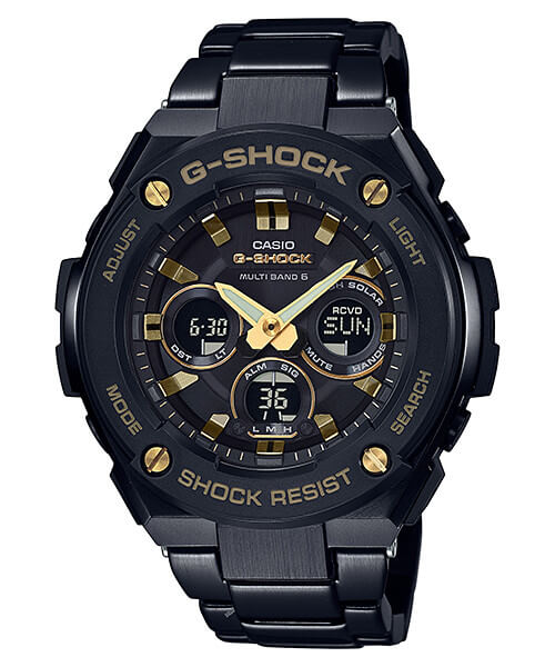 G-Shock G-STEEL 300 Series: Smaller Mid-Size Analog-Digital – G-Central G-Shock Watch Fan Blog