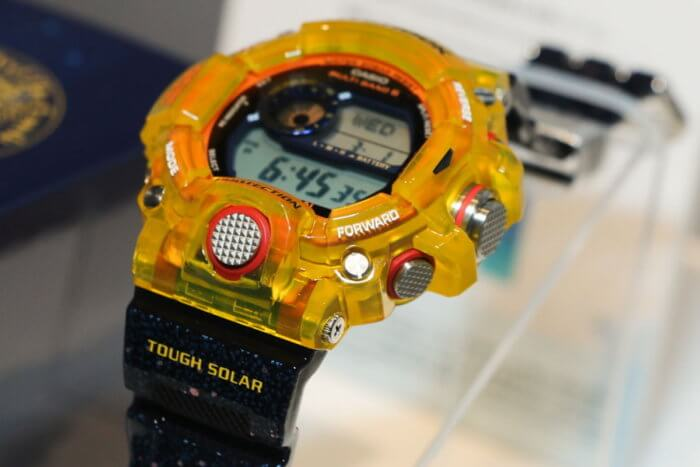 G-Shock Rangeman GW-9403KJ-9JR Earthwatch Angle