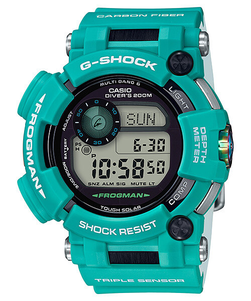 G-Shock Master in Marine Blue Frogman GWF-D1000MB-3