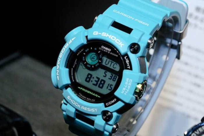 G-Shock Frogman GWF-D1000MB-3JF Master in Marine Blue