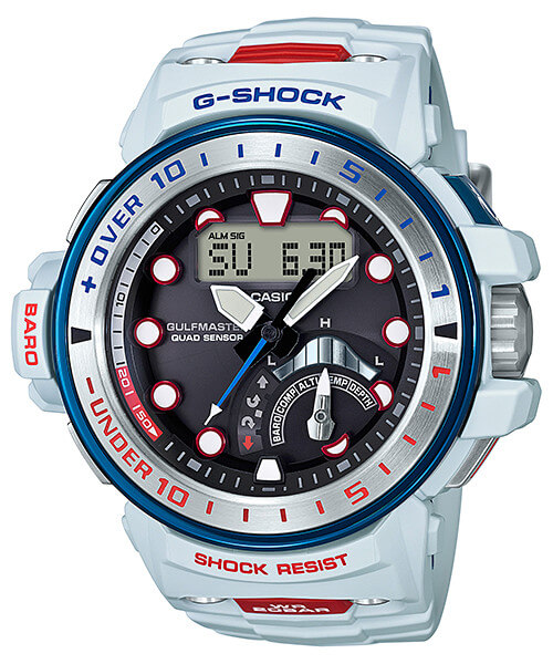 G-Shock GWN-Q1000K-7A Gulfmaster Love The Sea And The Earth 2017 I.C.E.R.C.