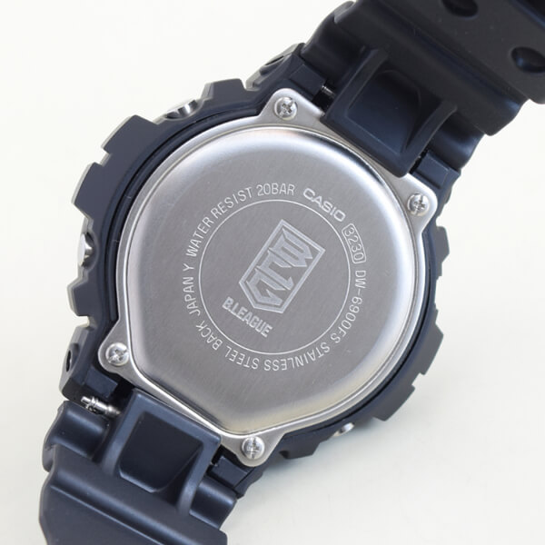 G-Shock x B.League DW-6900 Case Back
