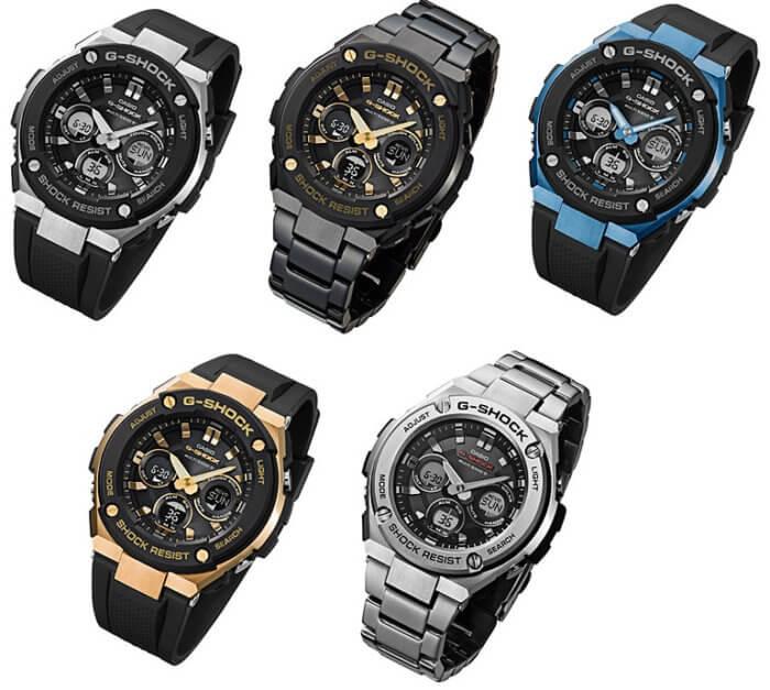 G-Shock G-STEEL GST-W300-1A GST-W300BD-1A GST-W300G-1A2 GST-W300G-1A9 GST-W310D-1A