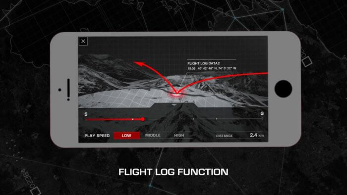 G-Shock GPW-2000 Flight Log Function