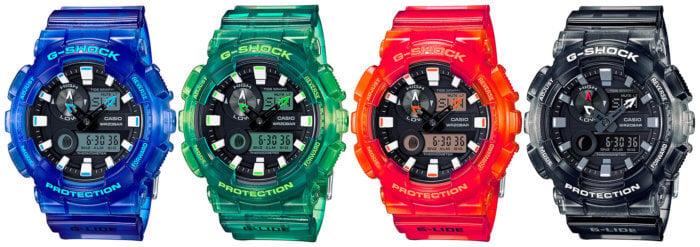 G-Shock GAX-100MSA-2AJF GAX-100MSA-3AJF GAX-100MSA-4AJF GAX-100MSB-1AJF