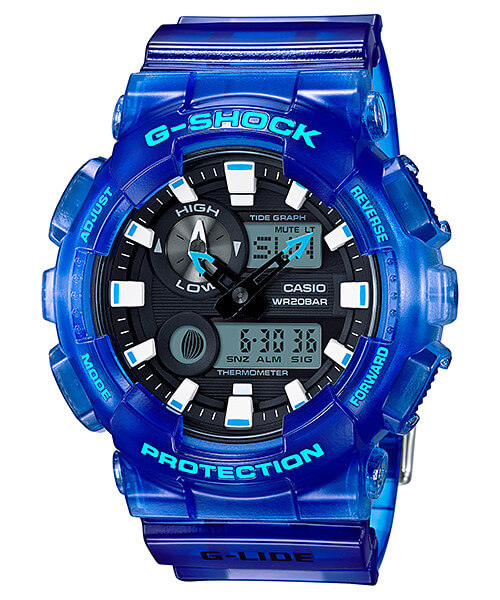 Best G-Shock for Surfing: G-Shock G-LIDE GAX-100MSA-2A