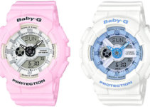 Casio Baby-G BA110BE-4 & BA110BE-7 Beach Color Pastel Series