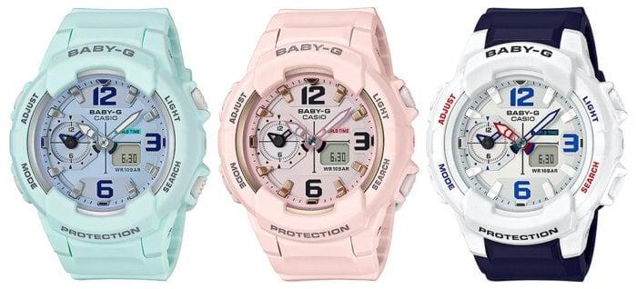 Casio Baby-G BGA230SC-3B BGA230SC-4B BGA230SC-7B